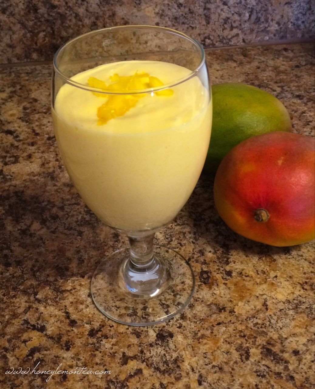 Simple Mango Lassi Recipe « Honey Lemon Tea
