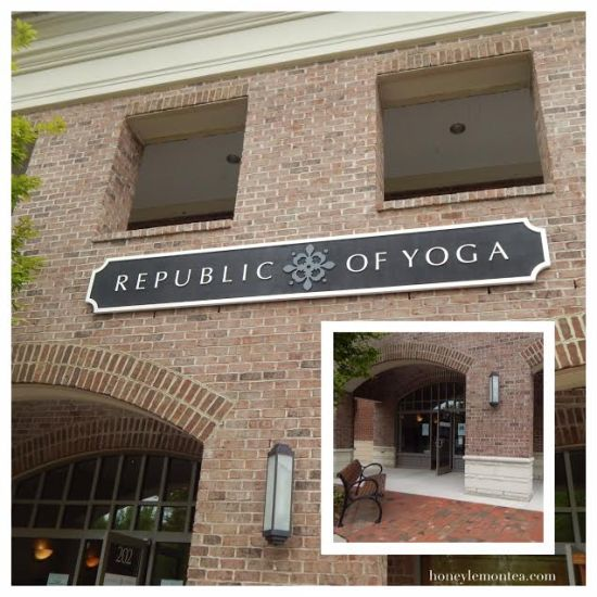 Republic of Yoga, Exterior